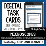 Microscopes Digital Task Cards   Google Forms