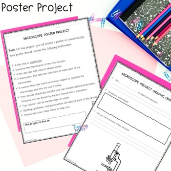Microscope Flip Book Review Activity