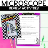 Microscopes Flip Book Review Activity