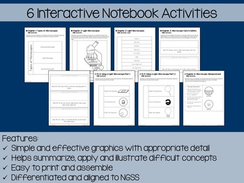 Microscopes Interactive Notebook Unit