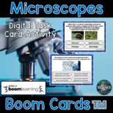 Microscopes Task Cards - Distance Learning Compatible Digital Boom Cards™