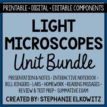 Microscopes Unit Bundle
