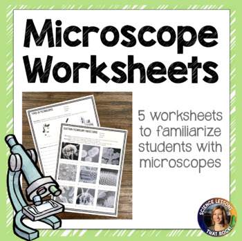 Microscope Worksheets