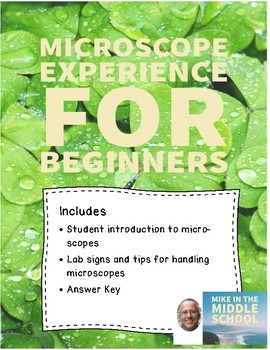 Microscopes for Beginners:  Lesson 1