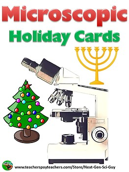 Microscopic Holiday Cards