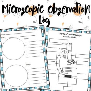 Microscopic Observation Log