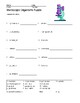 Microscopic Organisms Word Search and Vocabulary Word Puzzle Worksheets