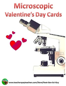 Microscopic Valentine's Day Cards