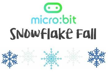 Micro:Bit Microsoft Computer Programming  - SNOWFLAKE LESSON (Beginners)