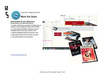 Microsoft Access 2013 Intermediate: Meet the Stars