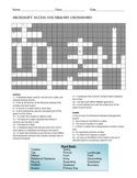 Microsoft Access Crossword Puzzle