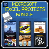 Microsoft EXCEL Activities - 6 PROJECTS!