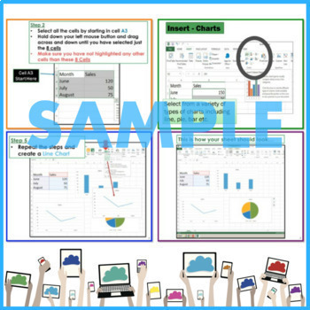 Microsoft EXCEL 2013 Elementary Lesson & Activity