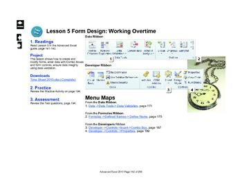 Microsoft Excel 2010 Advanced: Form Design