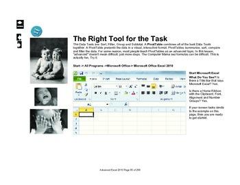 Microsoft Excel 2010 Advanced: PivotTables