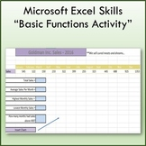 Basic Function & Formulas Lesson Activity for Teaching Mic