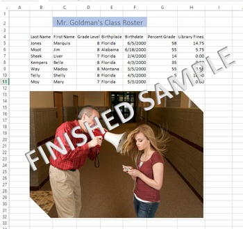 Microsoft Excel 2013 Dates, Alignment, Pictures, Cell Styl