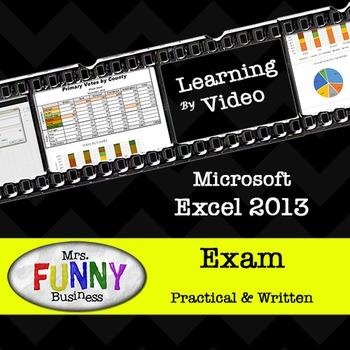 Microsoft Excel 2013 Exam