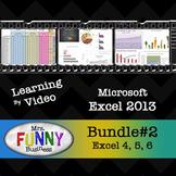 Microsoft Excel 2013 Video Tutorial - Bundle #2