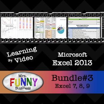 Microsoft Excel 2013 Video Tutorial - Bundle #3