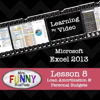 Microsoft Excel 2013 Video Tutorial - Lesson 8