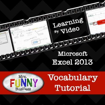 Microsoft Excel 2013 Vocabulary Tutorial with Video