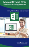 Microsoft Excel 2016 Classroom Training Curriculum