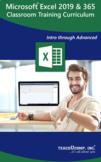 Microsoft Excel 2019 and 365 Classroom Training Curriculum