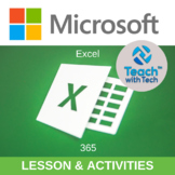 Microsoft Excel Office 365 Lessons & Activities UPDATED 2018