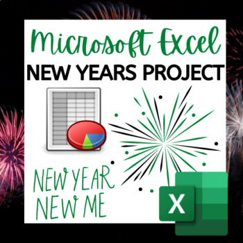 Microsoft Excel Activity: New Year's Themed