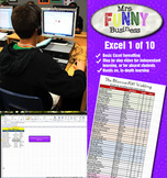 Microsoft Excel 2010 Video Tutorial Lesson 1 of 10