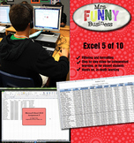 Microsoft Excel 2010 Video Tutorial Lesson 5 of 10