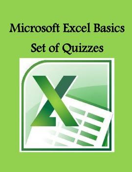Microsoft Excel Basics Set of Quizzes