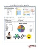 Microsoft Excel Favorite Movie Spreadshet