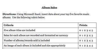 Microsoft Excel - Insert & Formatting Data