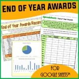End of Year Awards Spreadsheet Activity for Google Sheets™