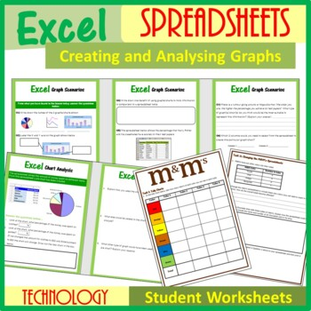 Excel Spreadsheets – Creating Graphs in Excel (ISTE 2016 Aligned)