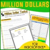 Excel Spreadsheets - Million Dollars
