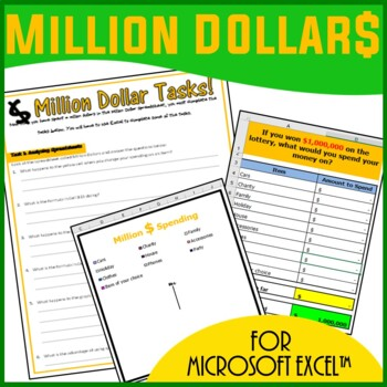 Excel Spreadsheets - Million Dollars