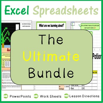 Microsoft Excel Spreadsheets - The Ultimate Bundle (Lifetime Updates)