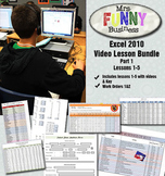 Microsoft Excel 2010 Video Tutorial Bundle Part 1 - Lessons 1-5