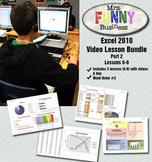 Microsoft Excel 2010 Video Tutorial Bundle Part 2 - Lessons 6-8