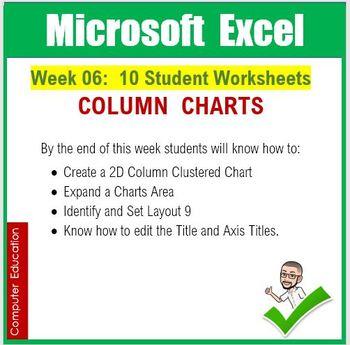 Microsoft Excel Spreadsheets : Week 06