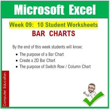 Microsoft Excel Spreadsheets : Week 09
