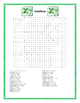 Microsoft Excel Word Search-  25 Words