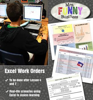 Microsoft Excel 2010 Work Orders