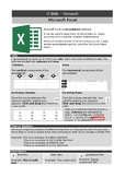 Microsoft Excel - basic functions handout