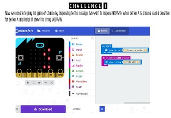 Micro:Bit - Microsoft Computer Programming - GAME OF CHANCE! (Beginners)