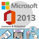 Microsoft Office 2013 Lessons & Activities Bundle