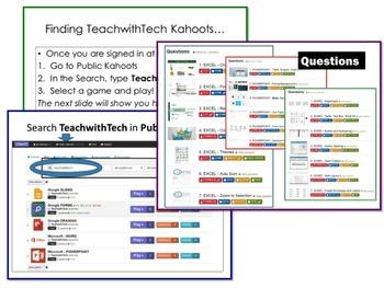Microsoft Office 2013 Kahoots